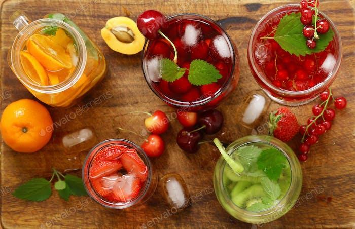 Berry and Fruit Lemonades