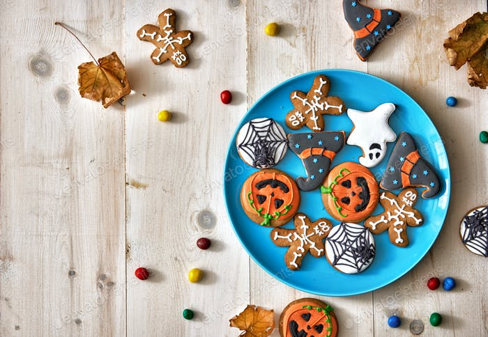 Festive sweets and cookies