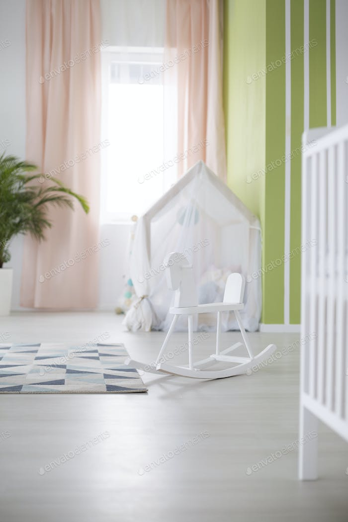 Room designed for baby