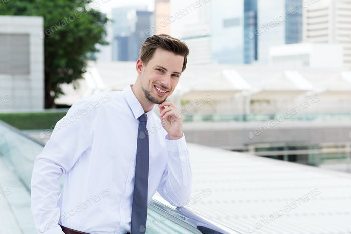 Businessman at outdoor