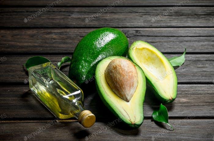 Avocado and avocado oil.