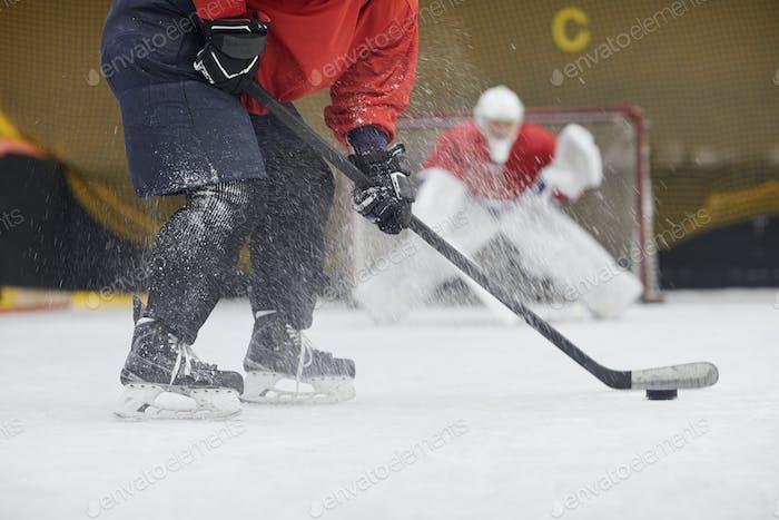 Action Hockey Match