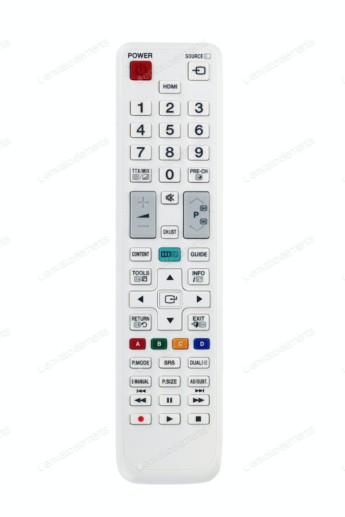 White remote control