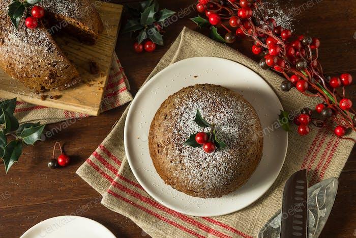 Süße Hausgemachte Weihnachten Figgy Pudding