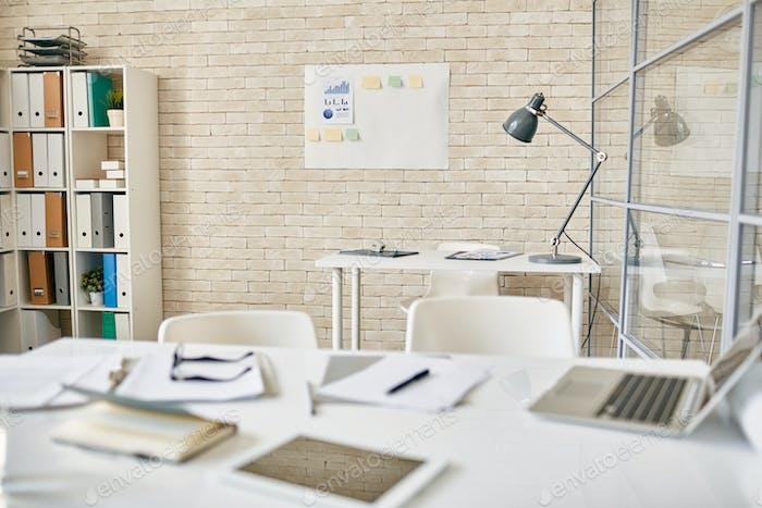 Lugar de trabajo en la oficina