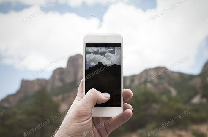 Taking Photo on a Mobile Phone