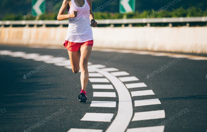 Running on highway