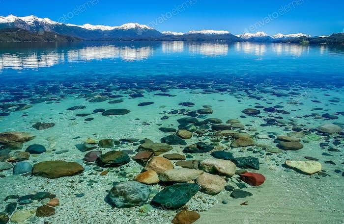 Beautiful argentinian lake