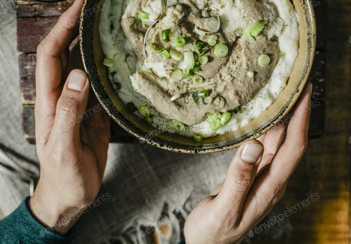 Vegan mashed potato