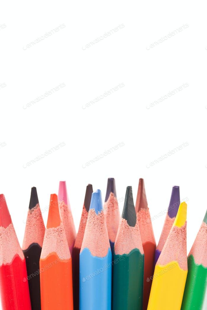 Dreieckige Buntstifte