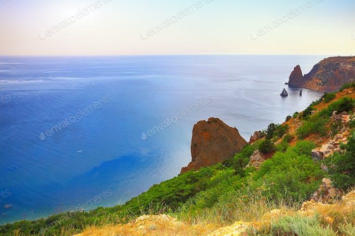 Meereslandschaft Fiolent Krim