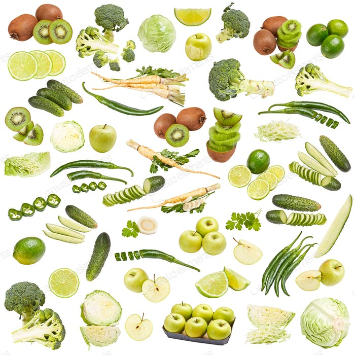 Green food collection