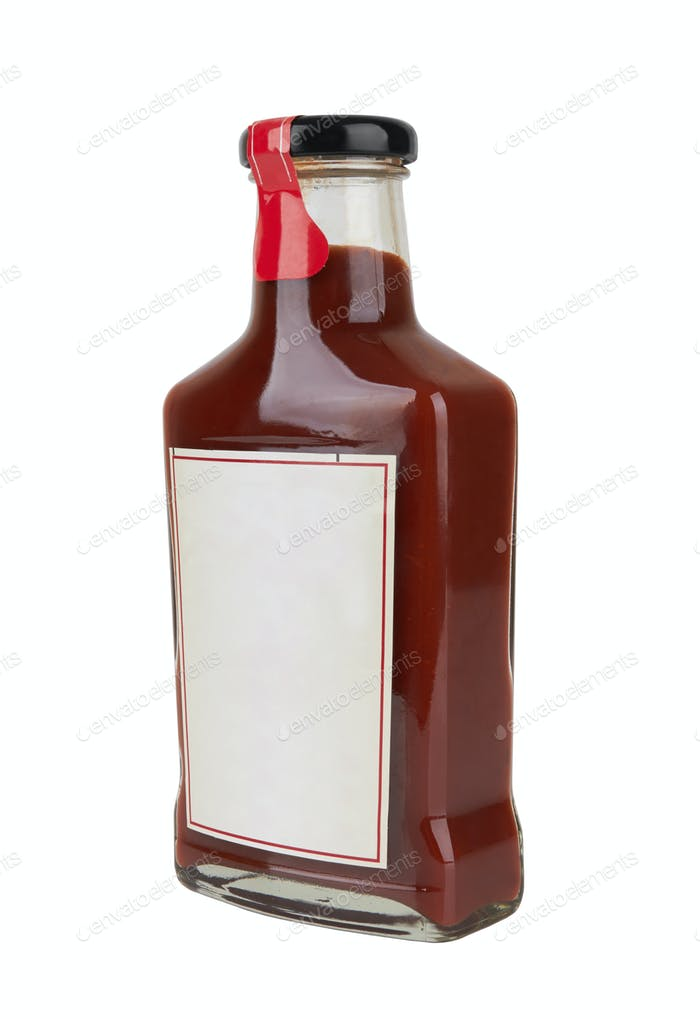 Flasche rote Soße