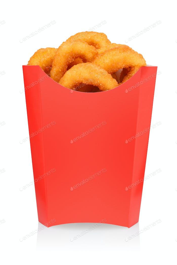 Frittierte Garnelen