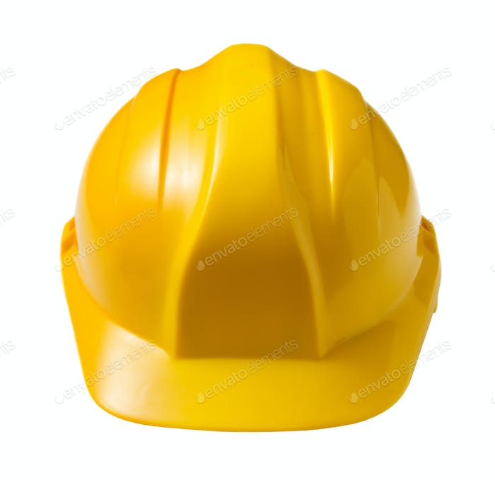 Gelber harter Hut