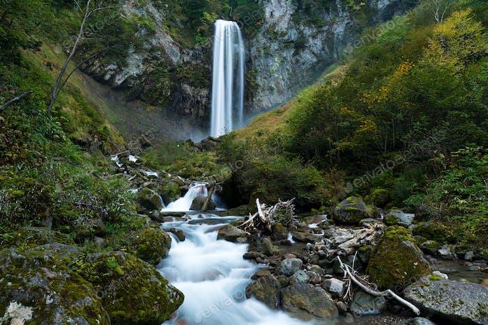 Waterfalls cascade