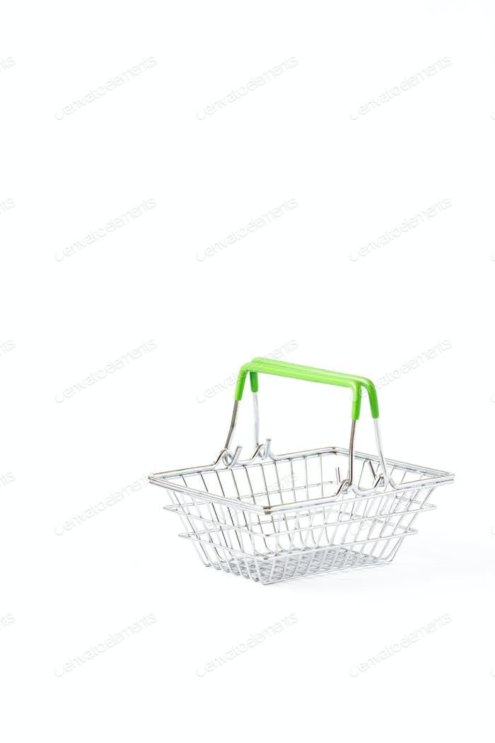 Shopping cart trolley basket .Conception Festive Sale Discount
