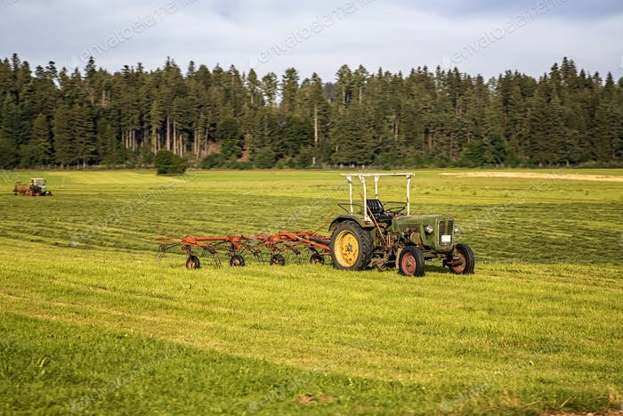 Agricultural machinery,
