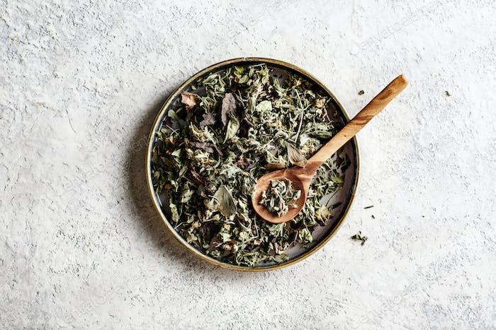 Herbal Tea. Dry tea from various herbs
