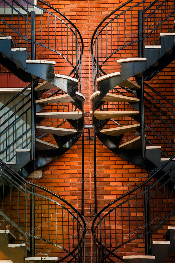 Symmetrical Staircases