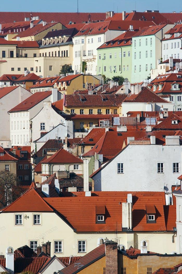 Lesser Town - historical center of Prague