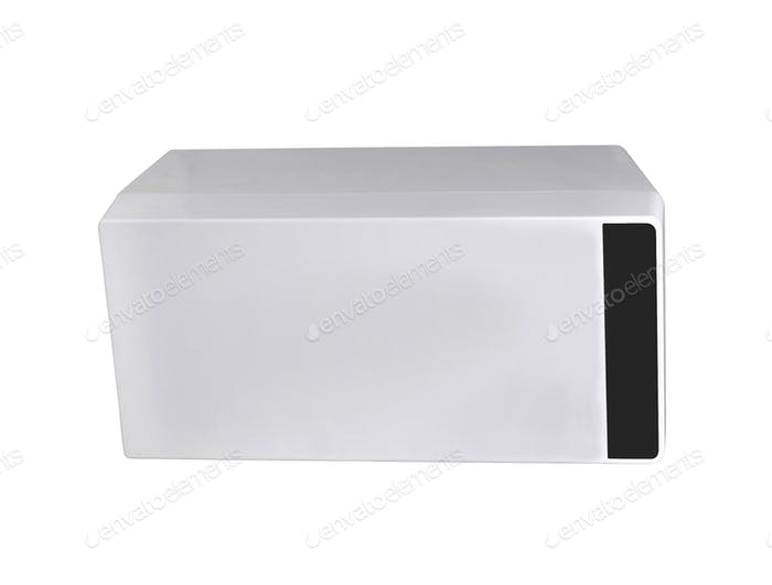 garbage container isolated on a white background