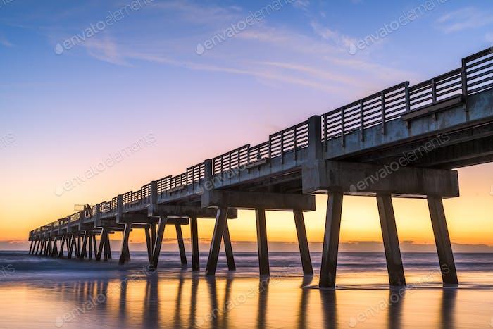 Jacksonville Pier in Jacksonville, Florida