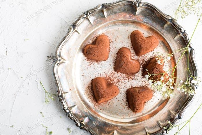 Handmade candies Tiramisu