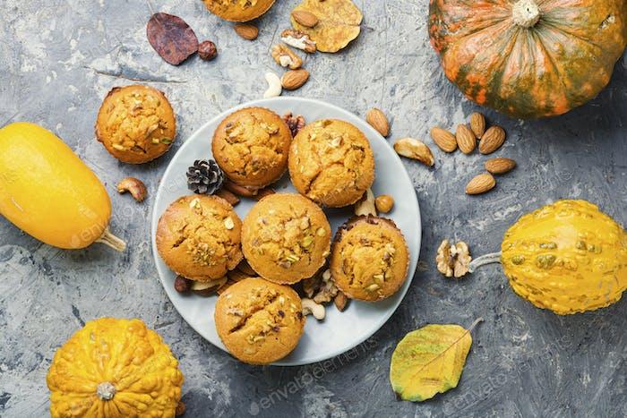 Herbst-Kürbis-Muffins