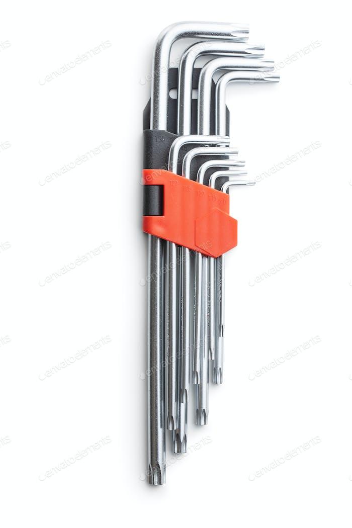 Metall-Torx-Schraubendreher