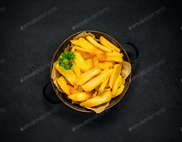 Bowl of Fried Potatoes