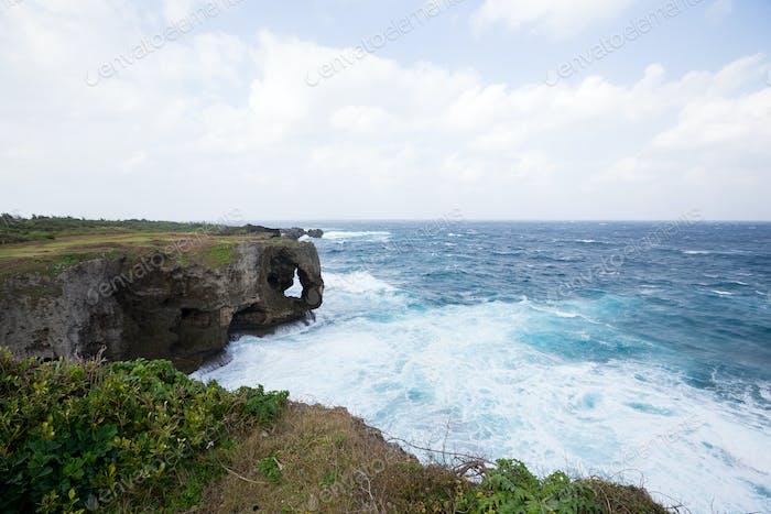 Manza Cape in Japan