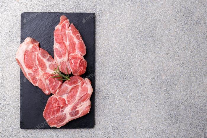 Fresh boneless pork loin