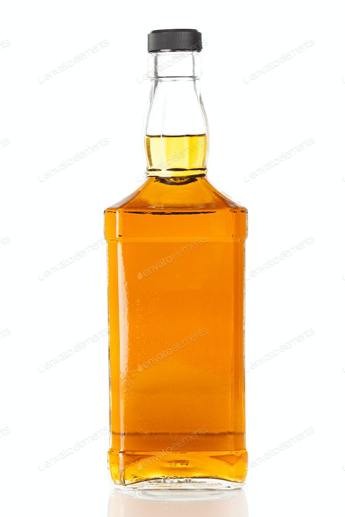 Bottle of Golden Brown Whisky