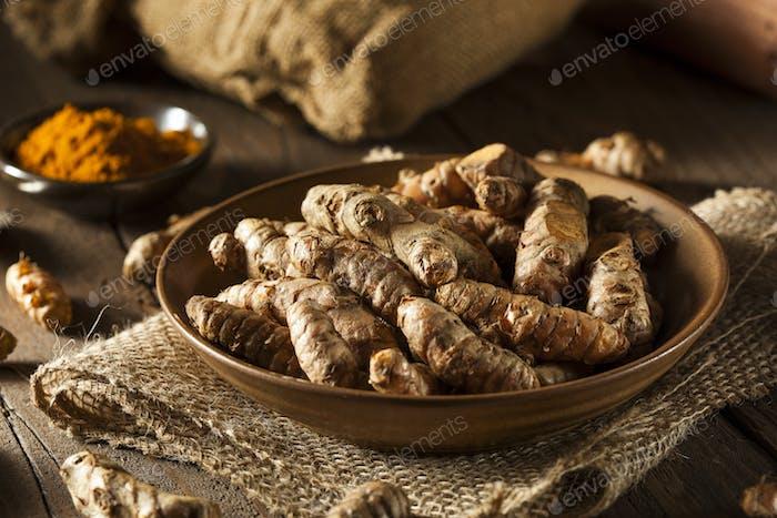 Raw Organic Turmeric Spice