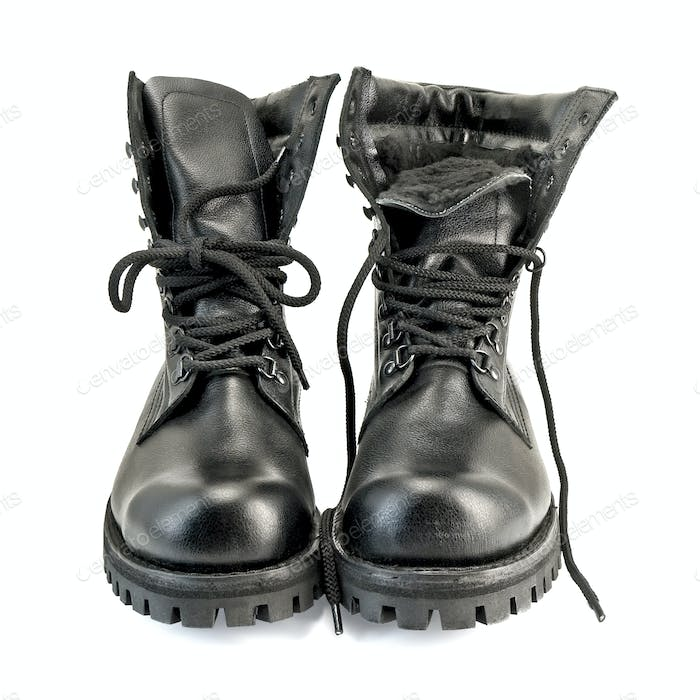 Army pair boots