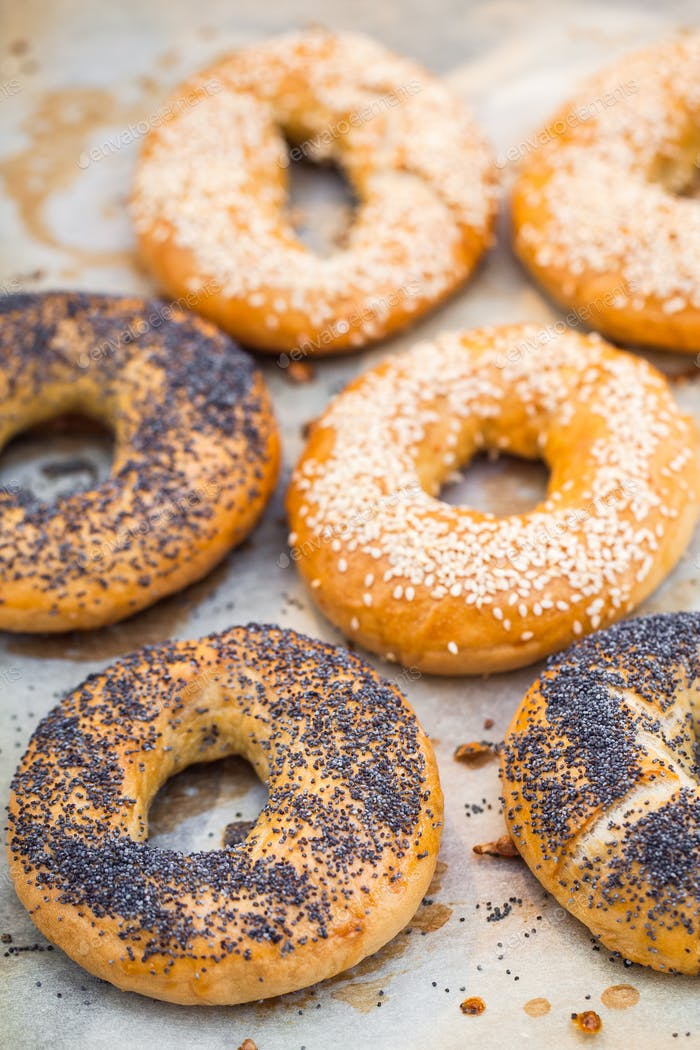 Homemade bagels - better than from bakery