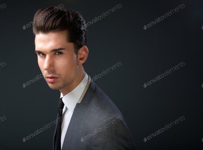 portrait of a fashionable businessman