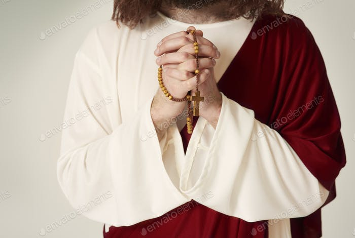 Betet zu Gott für alles, was ihr braucht