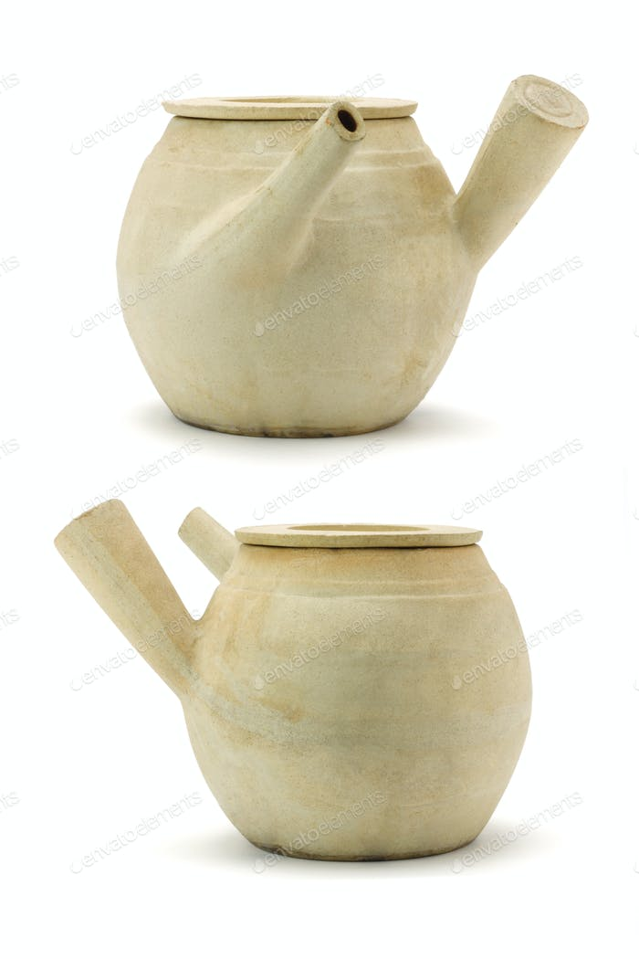 Chinese clay pots