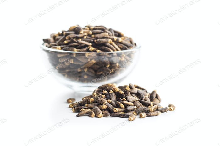 Milk thistle seeds.