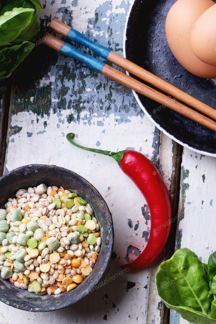 Quinoa Burger Zutaten
