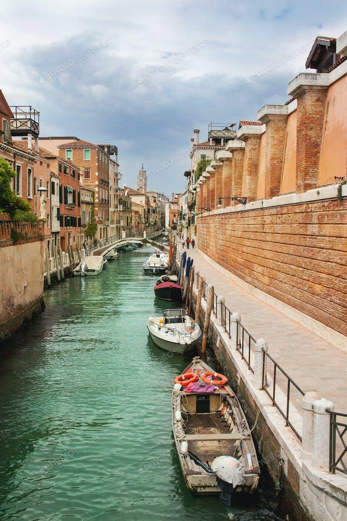 Schönes romantisches Venedig