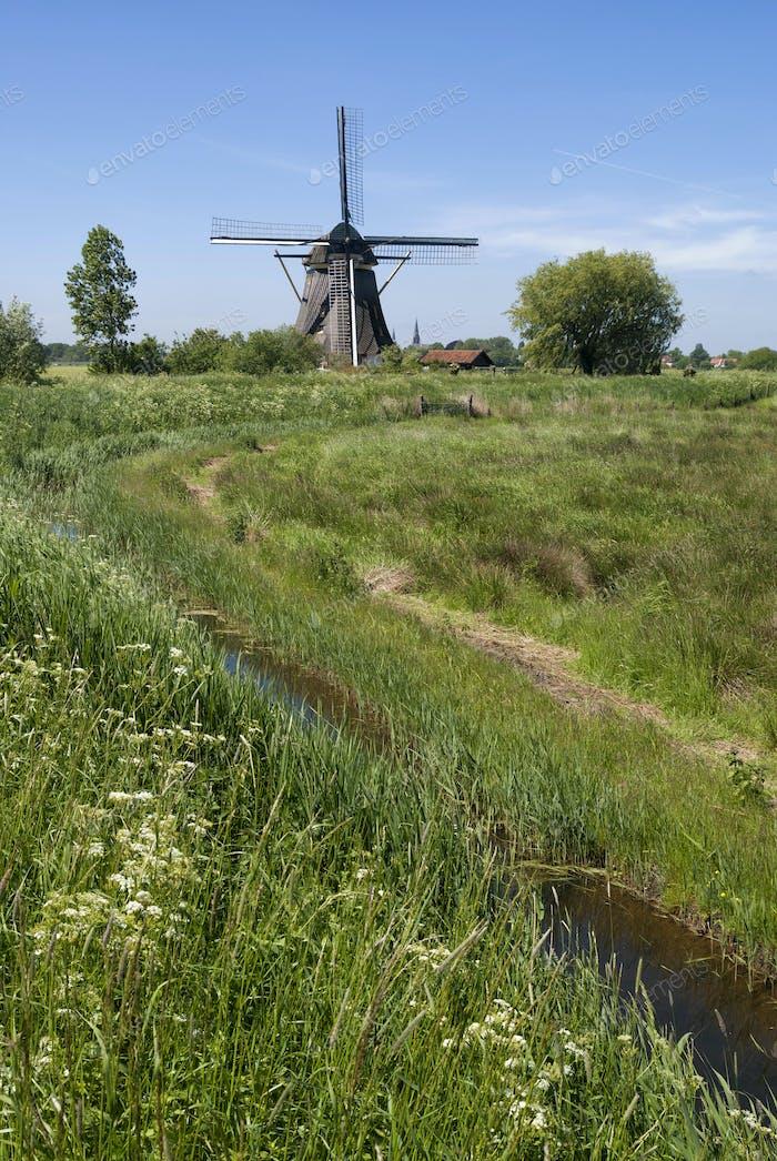 Windmill Oostzijdse Molen near Abcoude