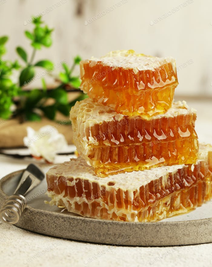 Natural Organic Honeycombs