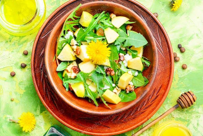 Diet vegetarian salad