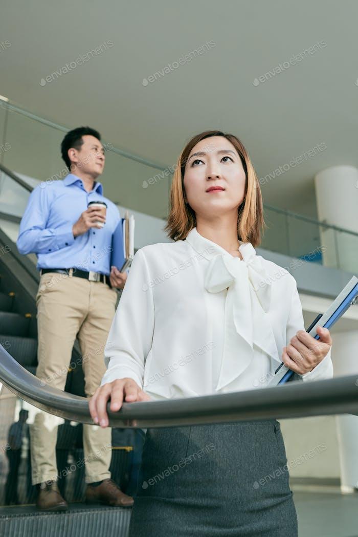 Koreanische Geschäftsfrau