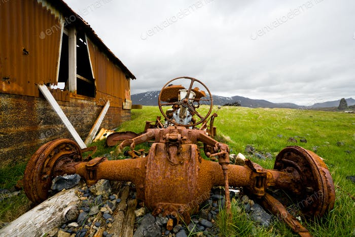 Rusty Tractor, Iceland