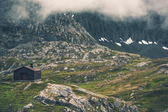 Raw Norwegian Landscape