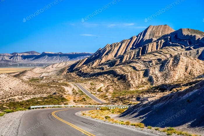 Road through Argentinian North